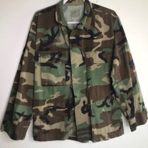 Vintage Air Force Camo Jacket